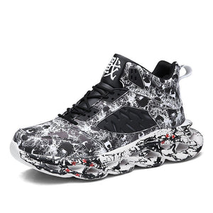 Casual Graffiti Sneakers