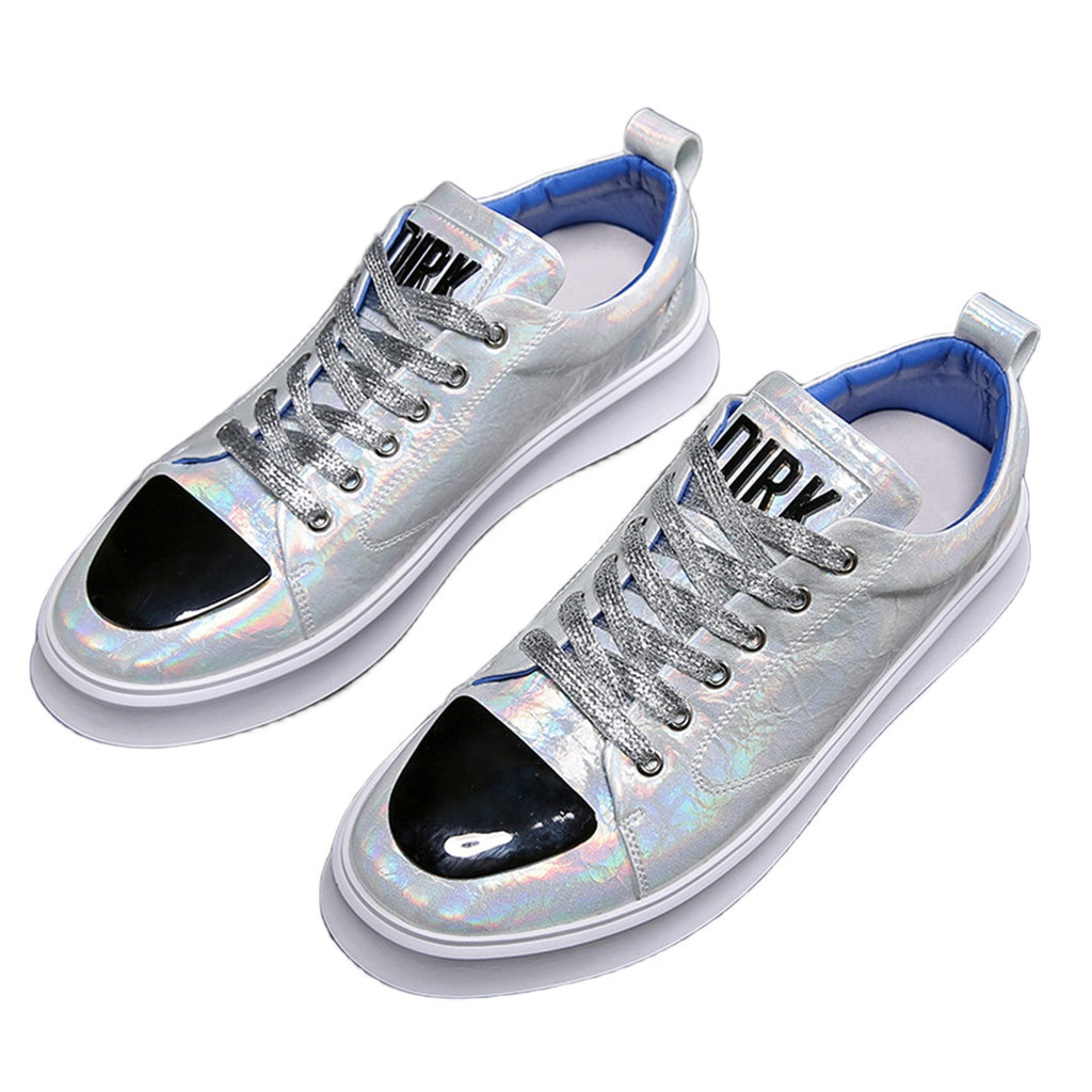 Fashionable Silver Shoes