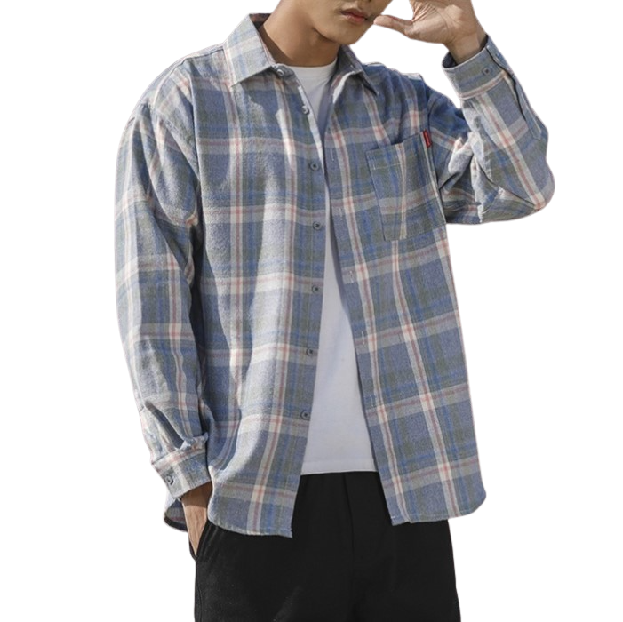 Buck Camp Flannel Button Shirt