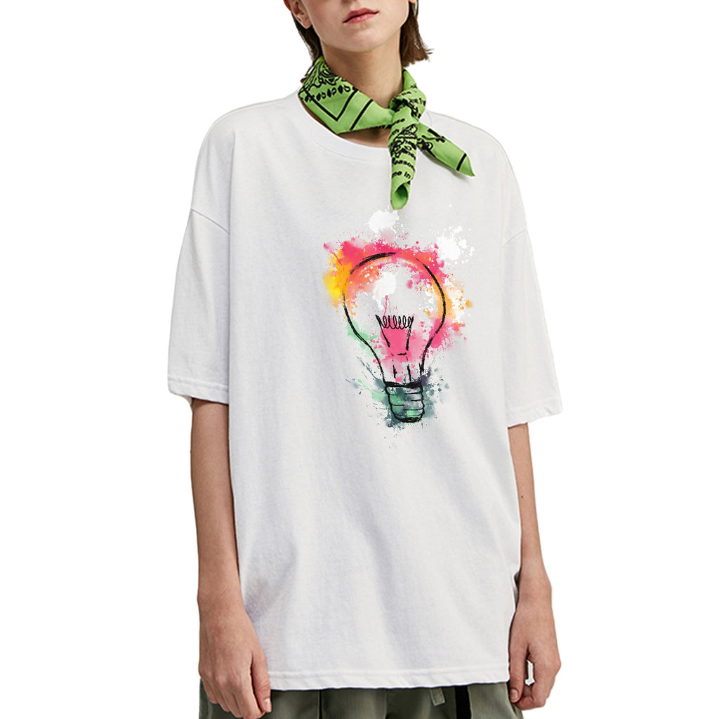 Lightning Bulb Oversized T-Shirt