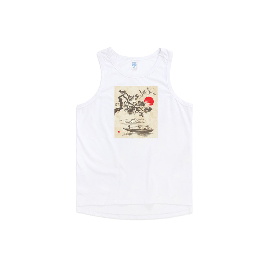 Lake Trip Oversized Tank Top