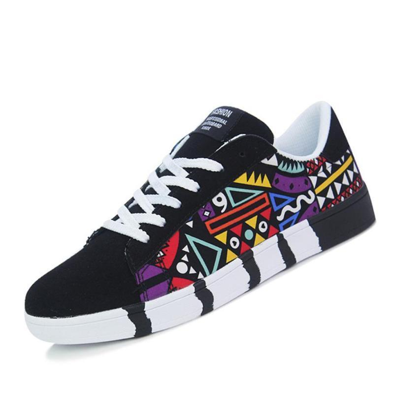 Joshua Ethnic Pattern Sneakers