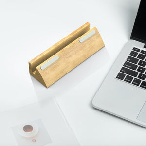 Solid Wood Computer Stand - Simple And Practical Assistant For Office Life