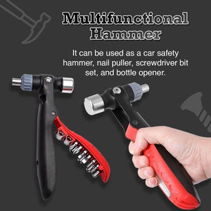 Multi Function Hand Tool Kit [Hammer+Screwdriver+Wrench] - Probably The Only Tool You Will Ever Need!
