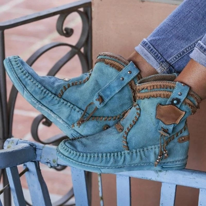The New! -Vintage tassel boots