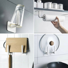 Punch-Free Strong Load-Bearing Hook - Use It Anywhere At Home Where You Need To Hang Things