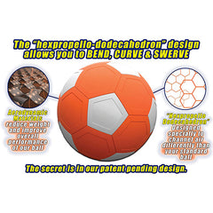 Exclusive 49% Off Only For Today - Curve and Swerve Soccer Ball Toy
