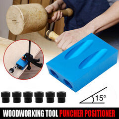 Pocket Hole Jig Carpentry Tools Angle Drill Guide Woodwoorking