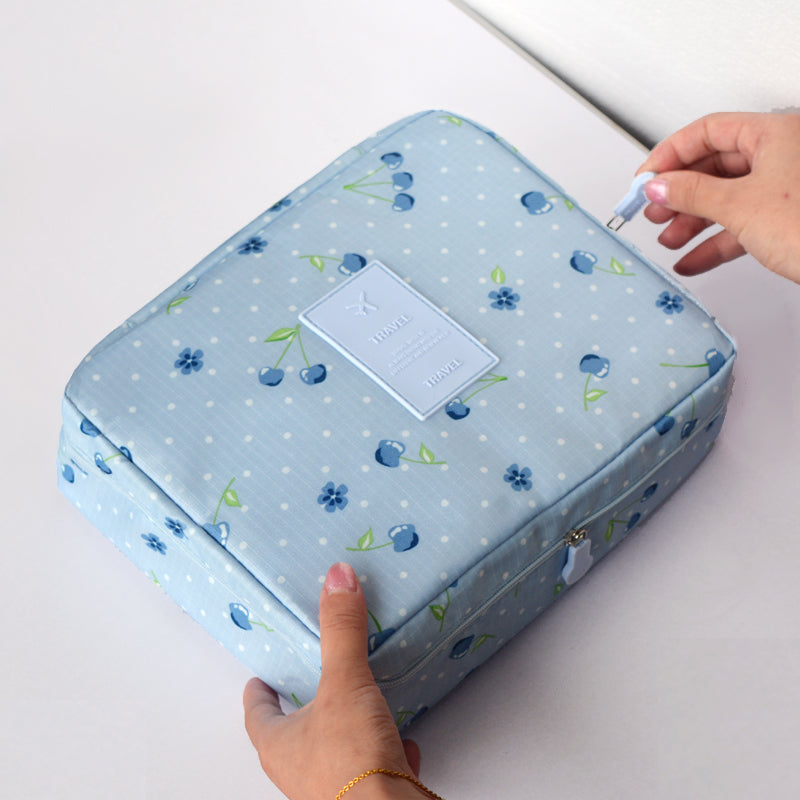 Double-Layer Multifunctional Waterproof Toiletry Bag