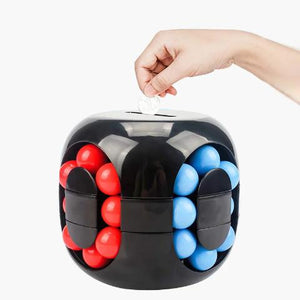 Ball Game Rubik's Cube Piggy Bank- Useful Toy For Kids