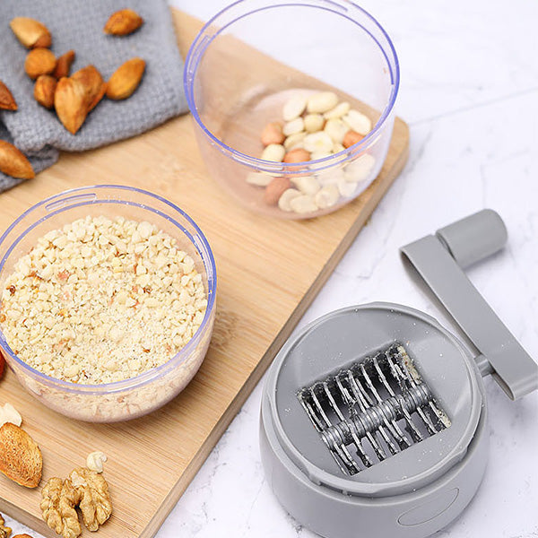 Nut Grinder - makes it an easy task to create delicious toppings