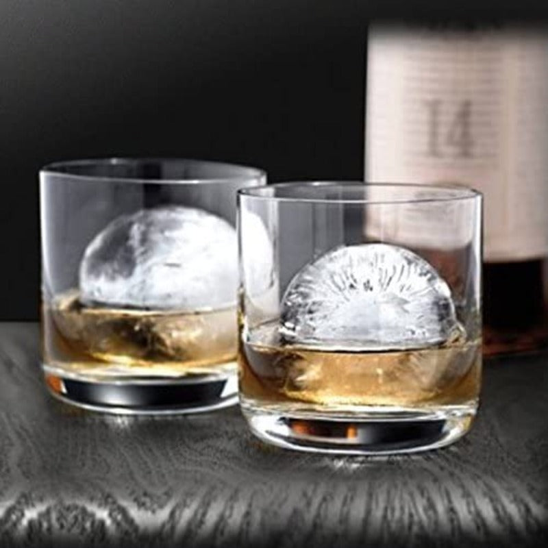 Silicone Whiskey Ice Moulds Set