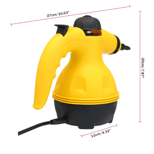 HANDHELD STEAM CLEANER - MULTI-PURPOSE PRESSURIZED CLEANING TOOL