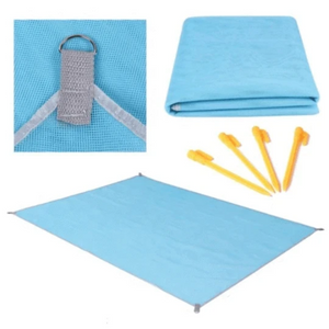 Sandproof Beach Blanket - Lightweight Outdoor Beach Mat