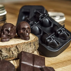 FANTASTIC 3D SKULL ICE TRAY-SPICE UP YOUR DRINKS!
