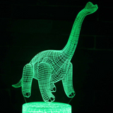Dinosaur 3D Night Light-Creative dinosaur gifts for kids
