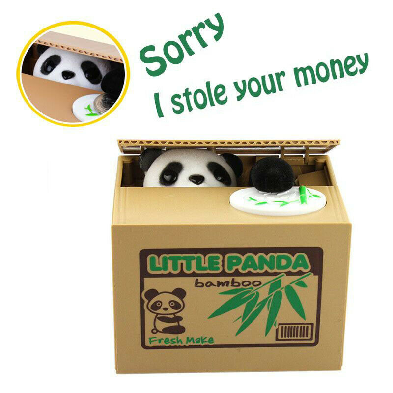 Adorable Animals Money Stealing Coin Bank