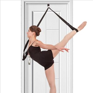Door Flexibility & Stretching Leg Strap - Your Stretching Coach at Home
