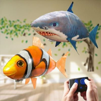 REMOTE CONTROLLED FLYING FISH-The most interesting gift to bring more joy
