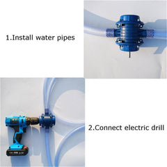 Premium Hand Electric Drill Water Pump