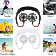 Portable Neck Fan-Enjoy Fresh Cool Wind Anywhere!