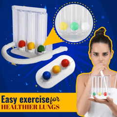 Breathing freely again! - Lung Capacity Exercising Device