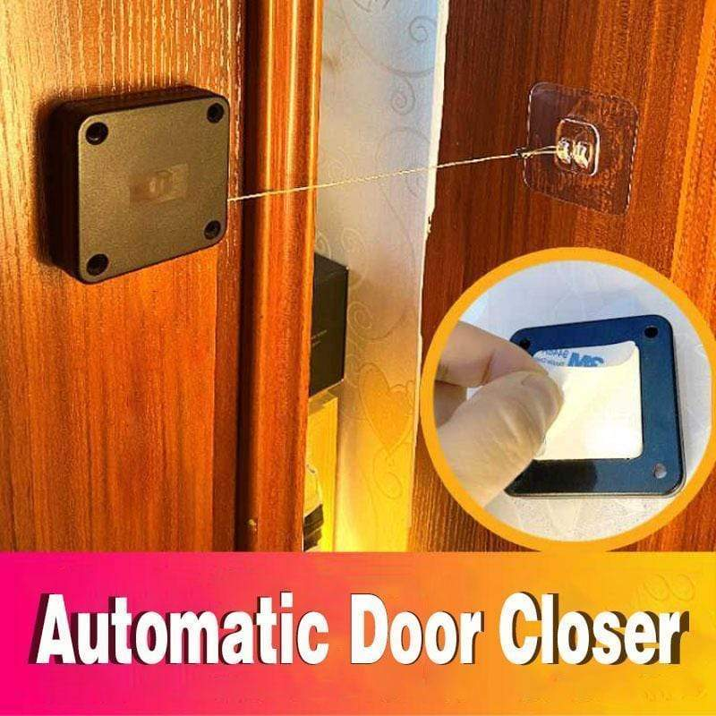 Punch-free Automatic Sensor Door Closer - Automatically Close all door