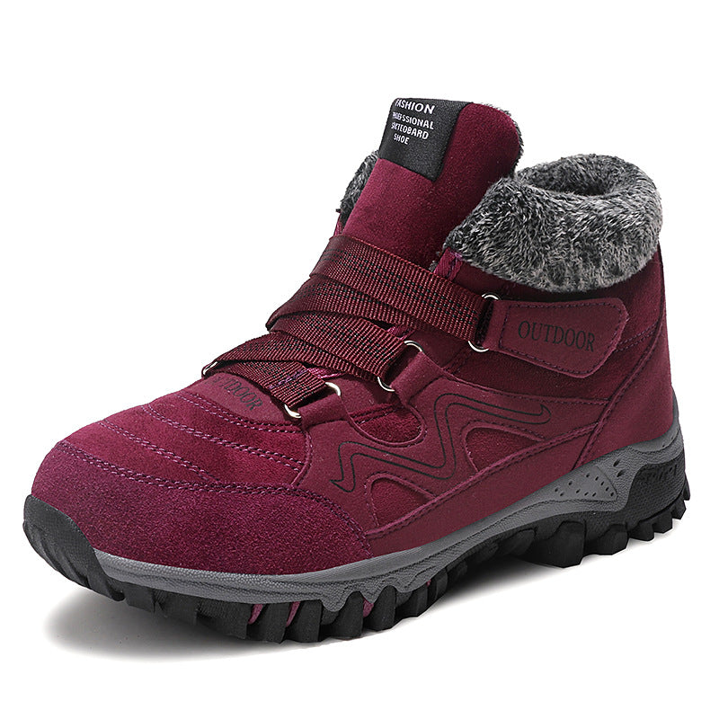 Outdoor Snow Boots In Mid-Tube