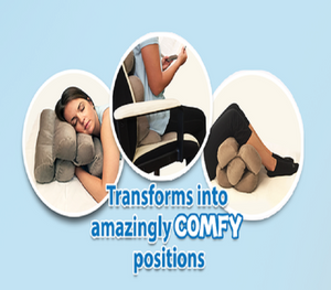 Adjustable Cushion - Make You More Comfortable Sitting And Lying Down😍