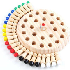 MemoChess - Wooden Memory Match Stick Chess