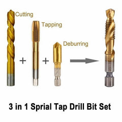 Thread Drill - Make Your Electrician DIY Easier