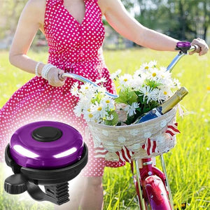 Aluminum Bike Bell Loud Crisp Clear Sound for Adults Kids Girls Boys