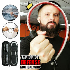 Emergency Defense Tactical Whip - Can Help You Out Of Danger At Critical Moments😱