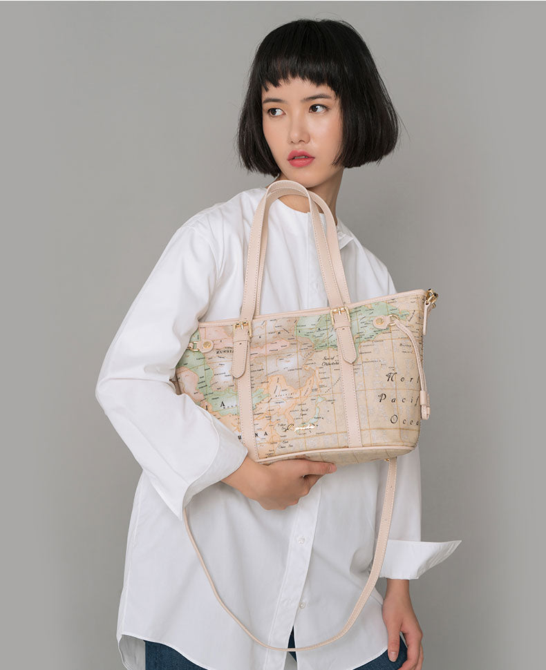 PAPRIKA Map Design Tote Bag