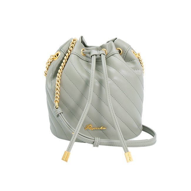 Summer Garden Collection - Quilted Mini Bucket Bag
