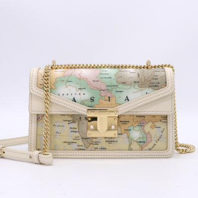 PAPRIKA Map Print Collection - Small Shoulder Bag