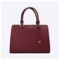 PAPRIKA Saffiano Top Handle Bag (Large)