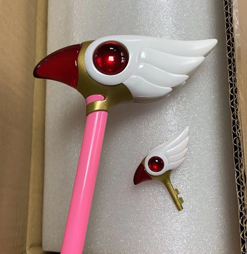 1/1 Sealing Wand and Key Set CardCaptor Sakura Manga Ver.