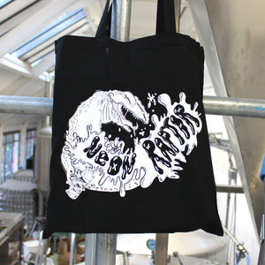 Neon Raptor Tote Bags (Designed by hoppie)