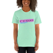 Load image into Gallery viewer, Neon Raptor Text Logo Short-Sleeve Unisex T-Shirt (Various Colours)