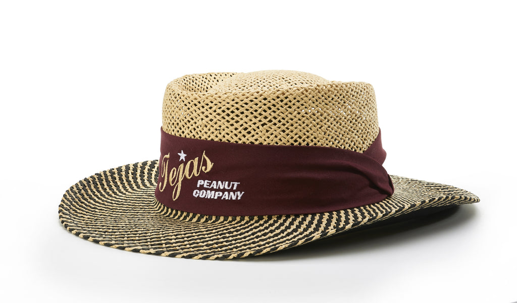 826 TWO-TONE GAMBLER HAT