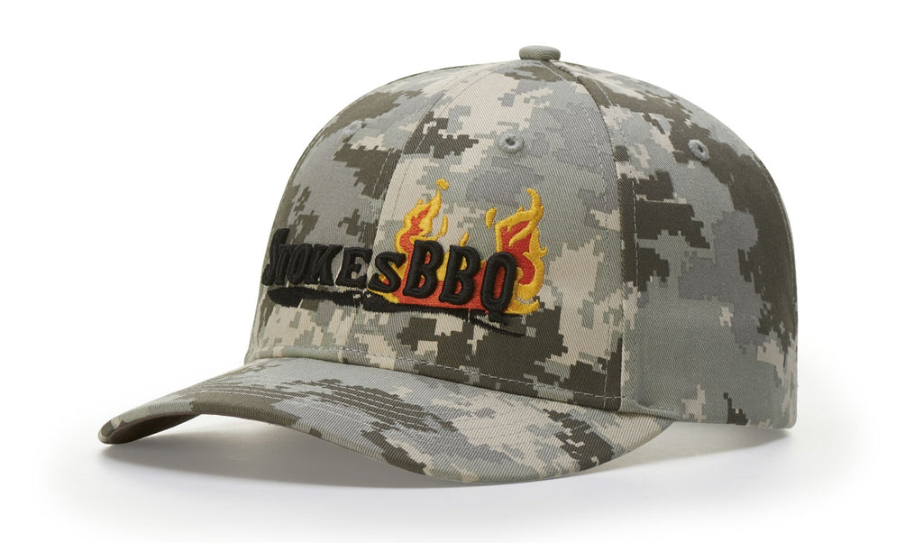 843 STRUCTURED CAMO STRAPBACK