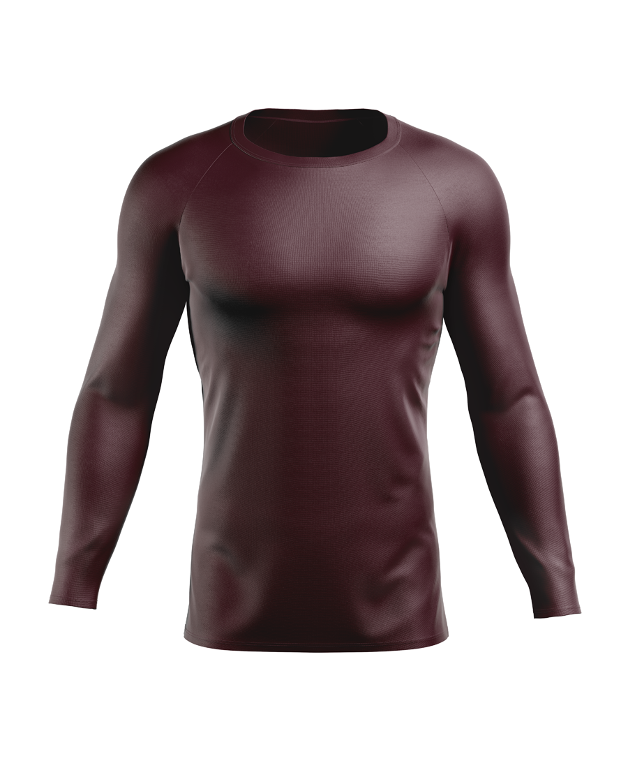 BA11 Baselayer LS Maroon