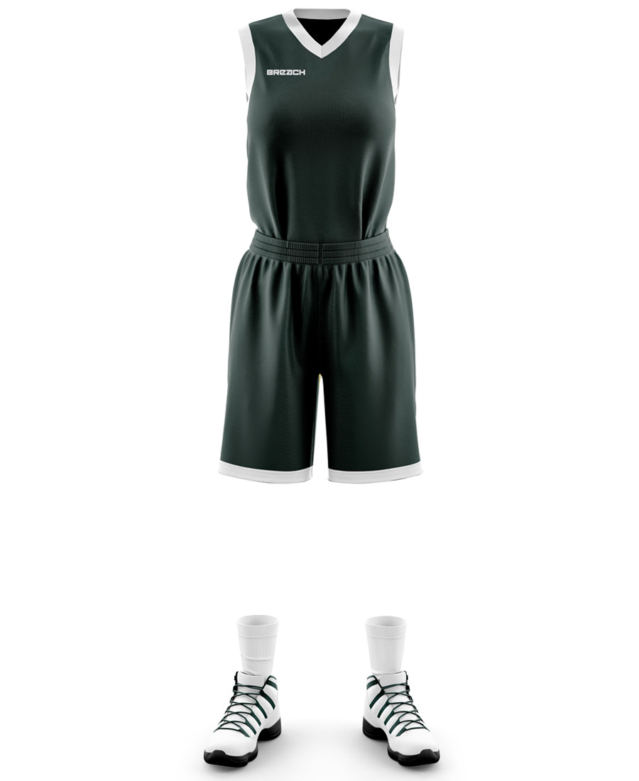 H1BKWH Women's Basketball Set