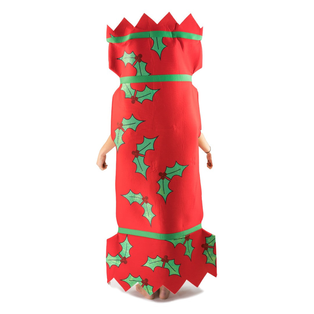 Costume Christmas Cracker per adulti