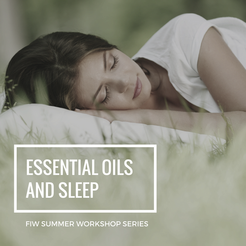 Summer Series: Essential Oils for Sleep