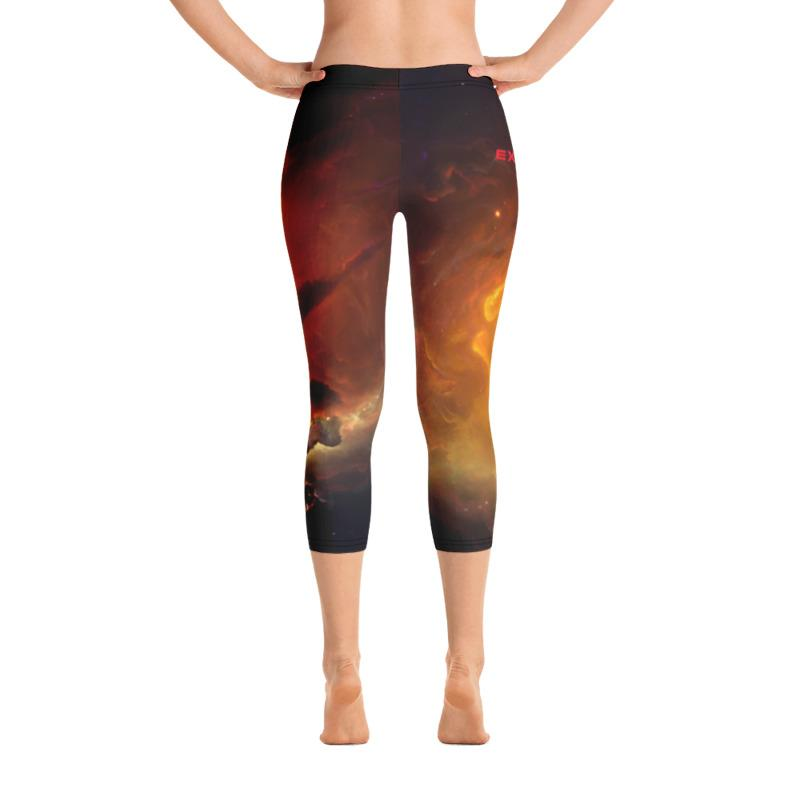 Skydiving T-shirts Galaxy - Nebula - Interstellar Milky-Way - Capri Leggings, Leggings, Skydiving Apparel, Skydiving Apparel, Skydiving Apparel, Skydiving Gear, Olympics, T-Shirts, Skydive Chicago, Skydive City, Skydive Perris, Drop Zone Apparel, USPA, united states parachute association, Freefly, BASE, World Record,