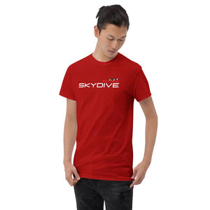 Skydiving T-shirts I ♡ Skydive - First Jump - eXtreme(RED) - Short-Sleeve Unisex T-Shirt, RED, Skydiving Apparel, Skydiving Apparel, Skydiving Apparel, Skydiving Gear, Olympics, T-Shirts, Skydive Chicago, Skydive City, Skydive Perris, Drop Zone Apparel, USPA, united states parachute association, Freefly, BASE, World Record,