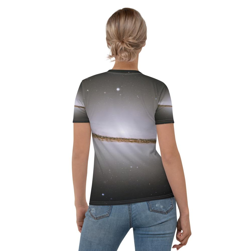 Skydiving T-shirts Galaxy - The Majestic Sombrero - Women's sublimation t-shirt, T-shirt, Skydiving Apparel, Skydiving Apparel, Skydiving Apparel, Skydiving Gear, Olympics, T-Shirts, Skydive Chicago, Skydive City, Skydive Perris, Drop Zone Apparel, USPA, united states parachute association, Freefly, BASE, World Record,
