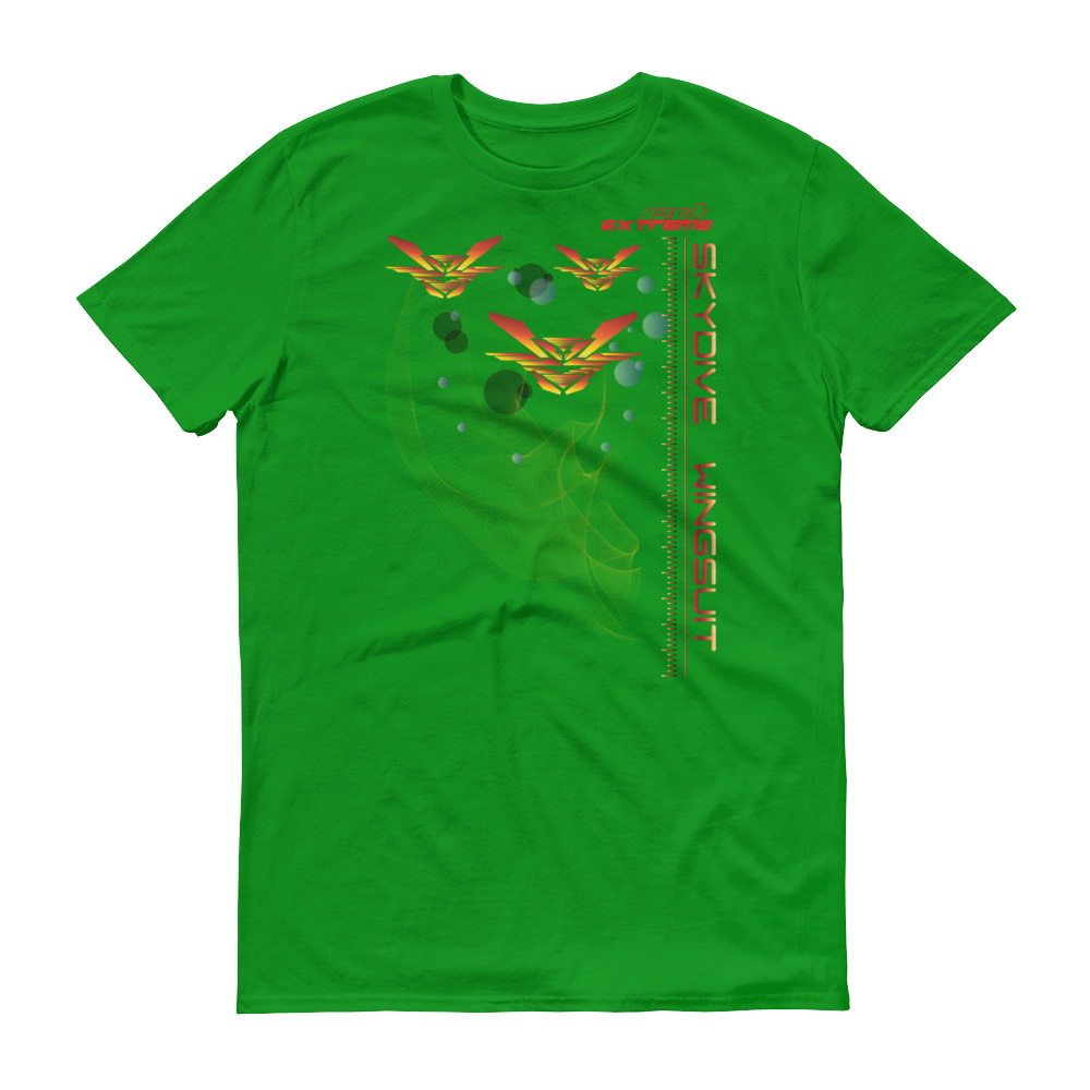 Skydiving T-shirts Skydive WINGSUIT - Men`s Colored T-Shirts, Men's Colored Tees, Skydiving Apparel, Skydiving Apparel, Skydiving Apparel, Skydiving Gear, Olympics, T-Shirts, Skydive Chicago, Skydive City, Skydive Perris, Drop Zone Apparel, USPA, united states parachute association, Freefly, BASE, World Record,